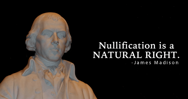 Nullification Stops Federalization