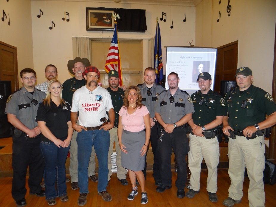 Constitutional Sheriff of Benewah County Personally Sponsors KrisAnne Hall's Constitutional Seminar in St. Maries, Idaho
