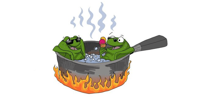Frogs, Boiling Water and the Normalcy Bias