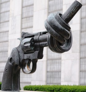 "The United Nations ""Knotted Gun"""
