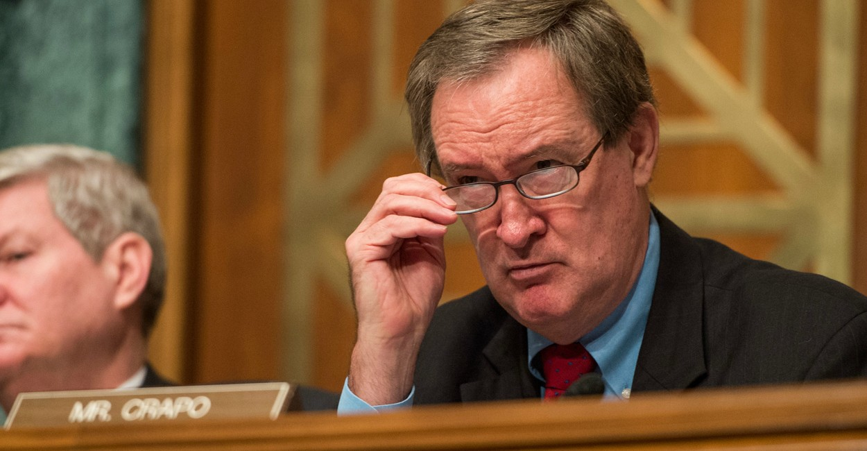 "Bob ""Nugie"" Neugebauer speaks with Sen. Mike Crapo about Idaho"