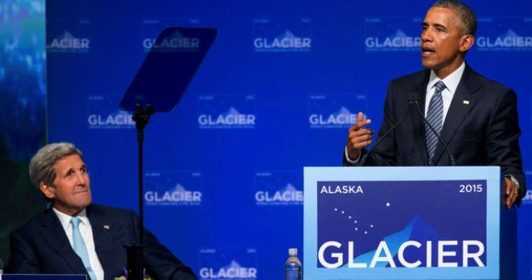 Obama's Prophecies of Climate Doom in Alaska Fall Flat