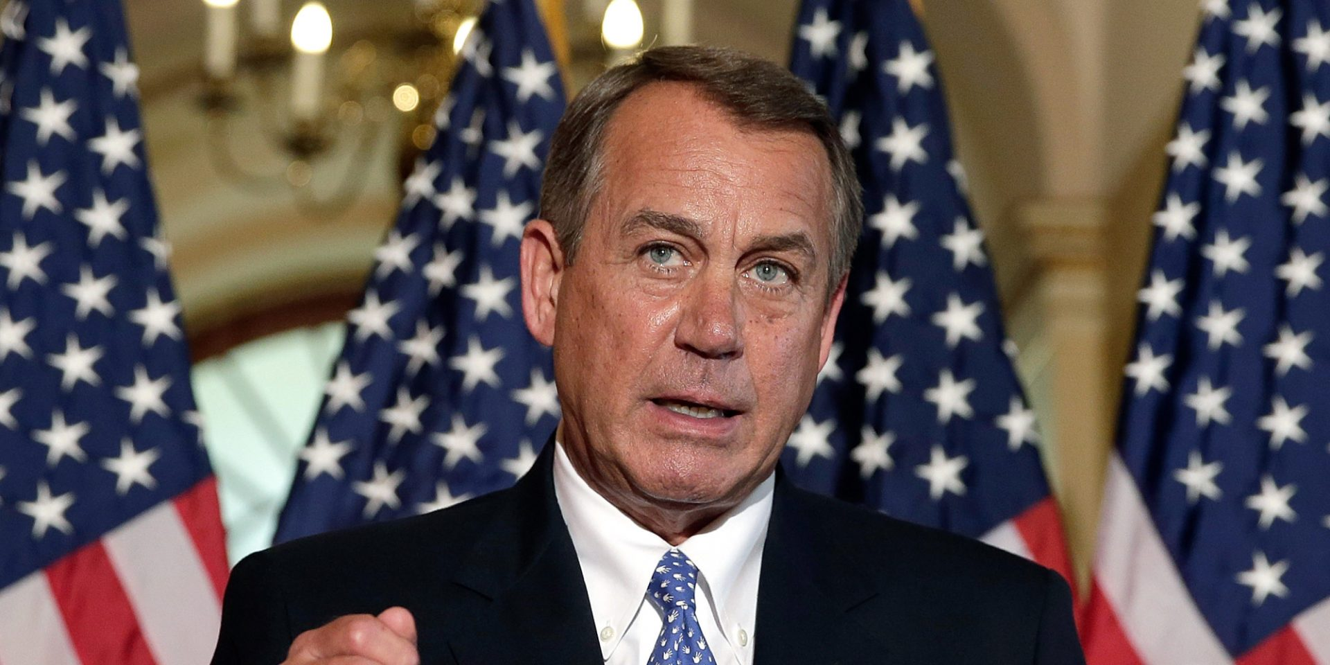 Boehner's Out: Not Soon Enough