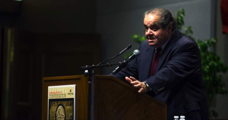 "Scalia: Same-sex Marriage Ruling ""Furthest Imaginable Extension"" of Court's Authority"