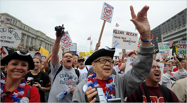Evolving tactics have not changed tea party mission