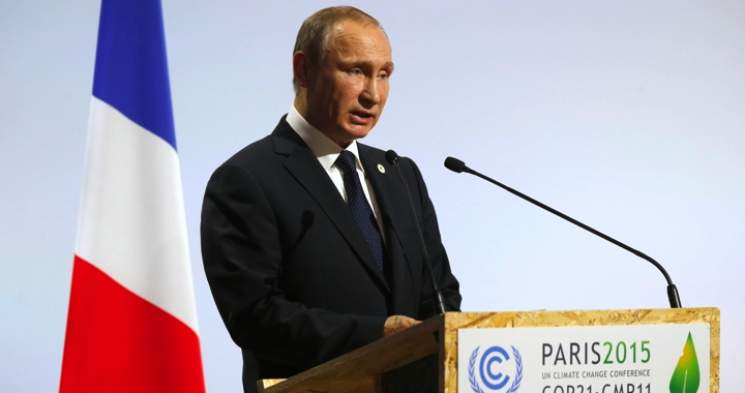 Putin Reverses Position on Global Warming, Backs UN Climate-change Agreement