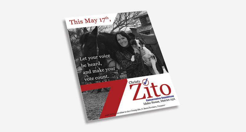 Christy Zito is running for Representative Seat 23A