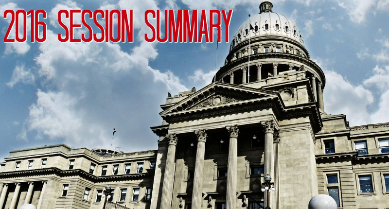 2016 Legislative Session Summary