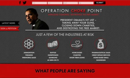 Operation Choke Point: Choking American Businesses