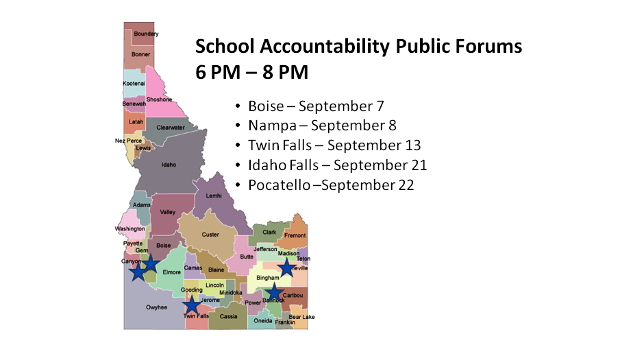 Important Notice of State Board of Education Meetings