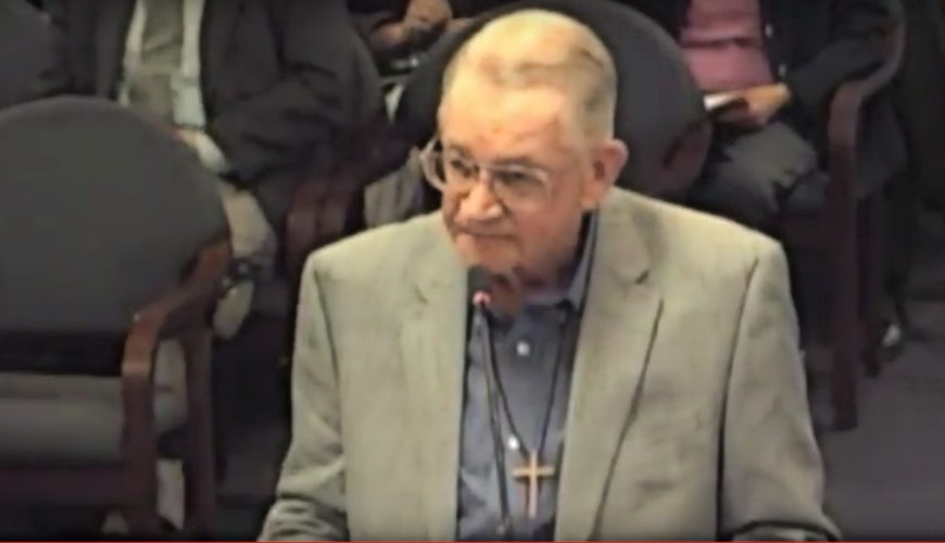 VIDEO: Bob Neugebauer testifies in favor of repealing the sales tax on groceries