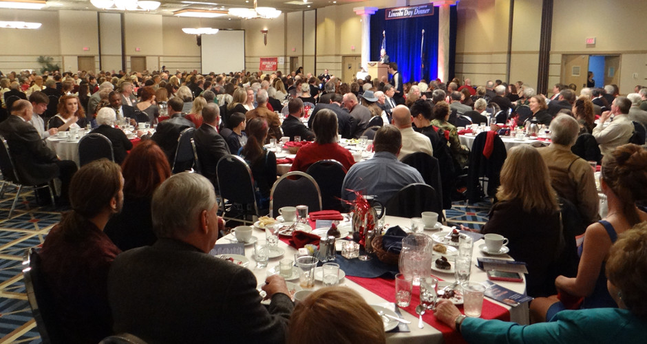 'Making America Great Again Begins in Idaho' KCRCC Lincoln Day Dinner Sets Records in Cd'A