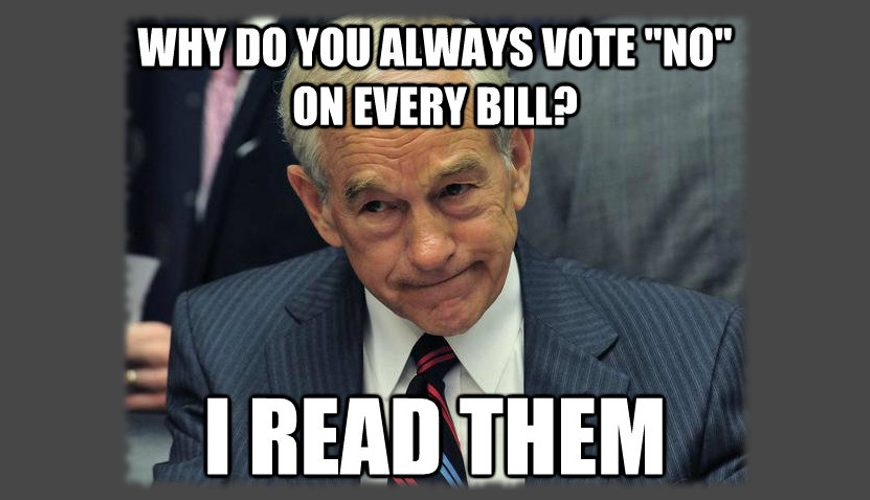 Conservatives Fight for Right to Read Bills before Voting on Them