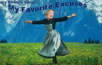 Hillary Clinton – My Favorite Excuses (Parody)