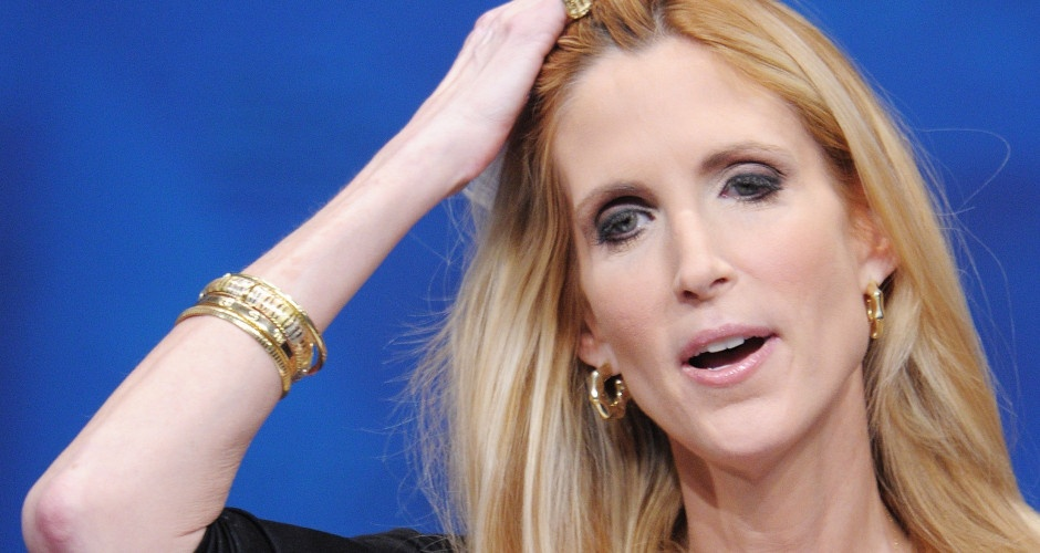 Ann Coulter and the White Flag