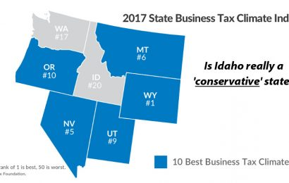 Taxed Enough Already? Idaho's Tax Climate is the worst in the Region