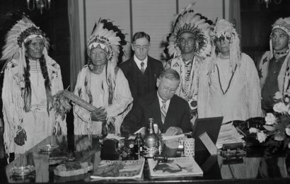 Federal Indian Policy: 'Mom always liked YOU best!'