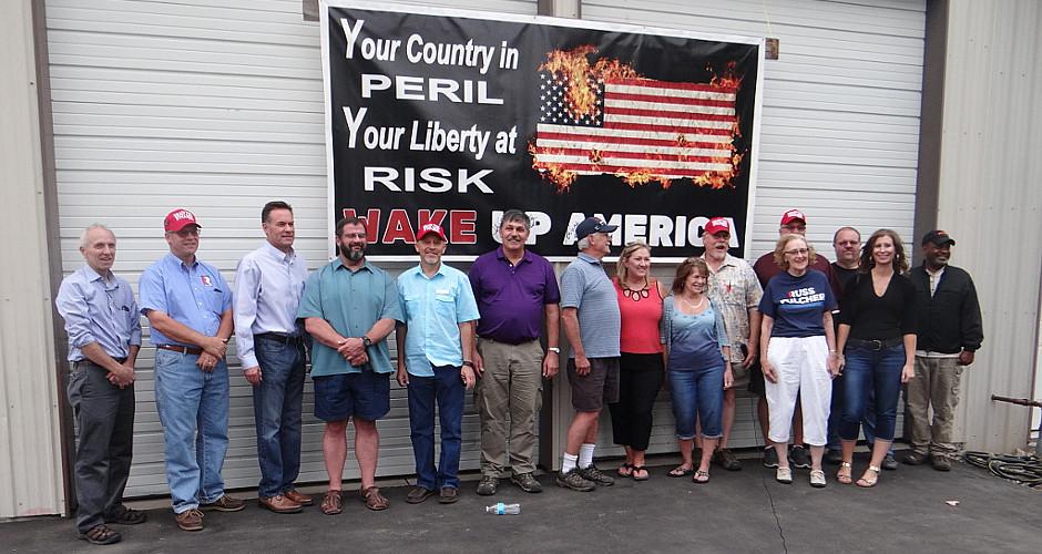 Tim and Karen Kastning Host Russ Fulcher Meet & Greet in Rathdrum, Idaho
