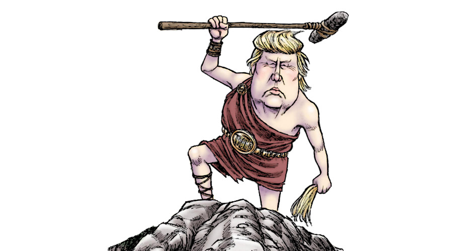 Trump the Barbarian