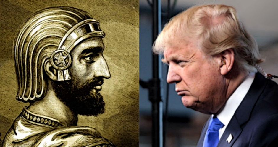 King Cyrus and Donald Trump