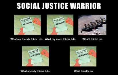 The jihadi and the social justice warrior