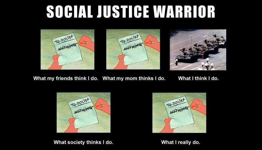 The jihadi and the social justice warrior