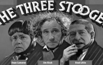 The Three Stooges go to Washington