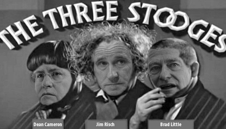The Three Stooges go to Washington