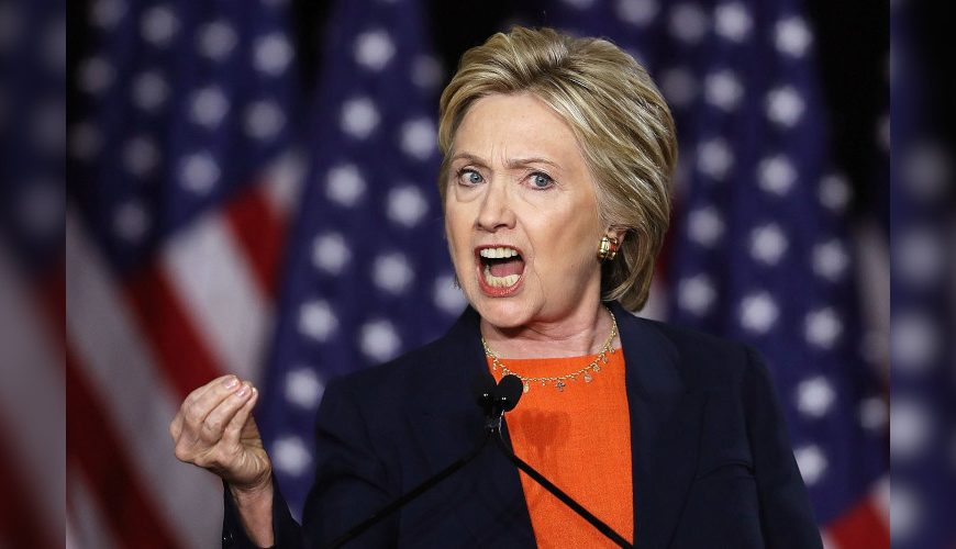 Hillary Clinton – the 'human spittoon'