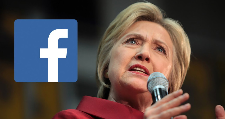 Hillary Clinton wants to run Facebook because of power to control news