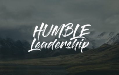 Humble Leadership