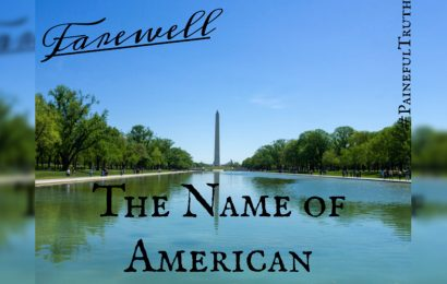 The Name of American & Slight Shades of Difference