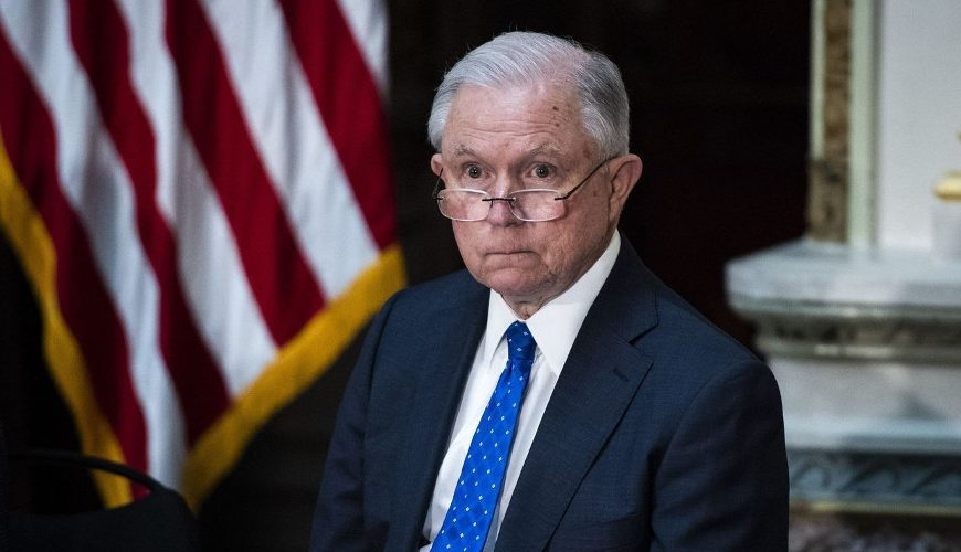 Sessions on life support as attorney general