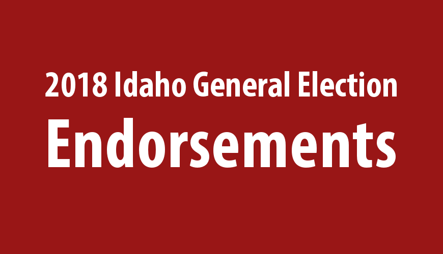 2018 Idaho General Election Endorsements