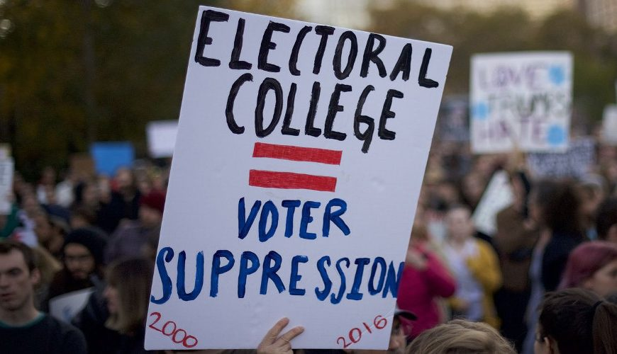 The Anti-trump Riots are a Smoke Screen, The Real Goal – Eliminate The Electoral College