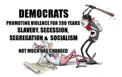 The Democratic Party's History of Anarchy: 1962-present