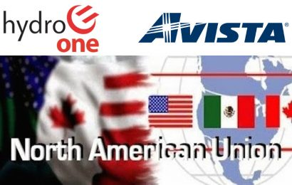 Avista/Hydro One Presses On – Next Stop, North American Union