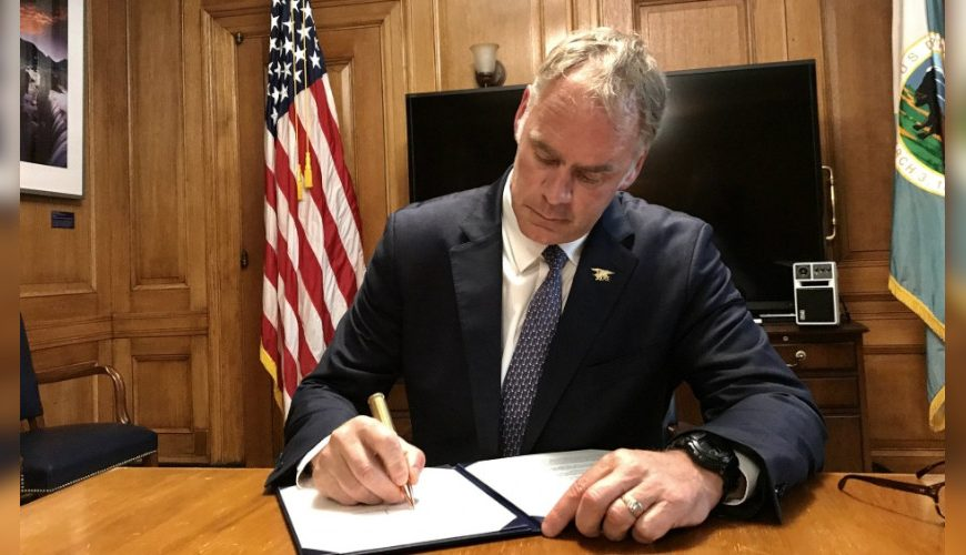 Zinke's Legacy At Interior: Reorganization And Streamlining Department, Agencies