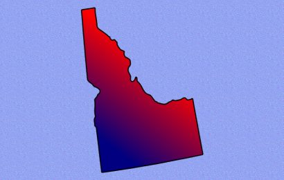 Idaho Turns Blue?