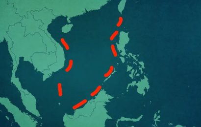 The nine-dash line