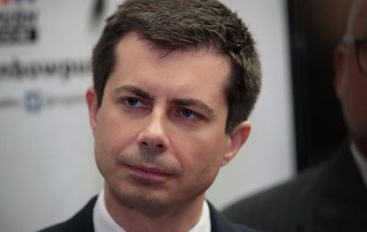 The DUMMY SCRIMMAGE HERO (Pete Buttigieg)