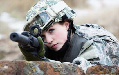OPINION: Women Don't Belong in Front Line Combat Positions