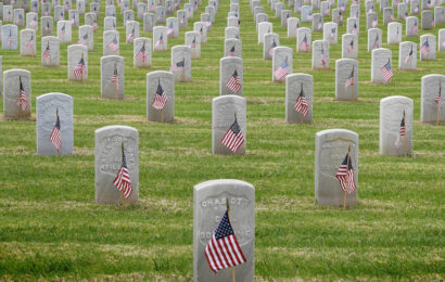 Memorial Day Service Before Self